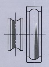 Повреждение подшипника - радиальная и осевая нагрузка одновременно
