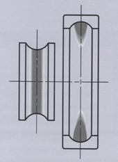 Овальная расточка корпуса подшипника