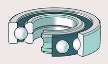 Шарикоподшипник с 4-х точечным контактом